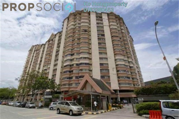 For Sale Condominium at De Tropicana, Kuchai Lama Leasehold Fully Furnished 3R/2B 315k
