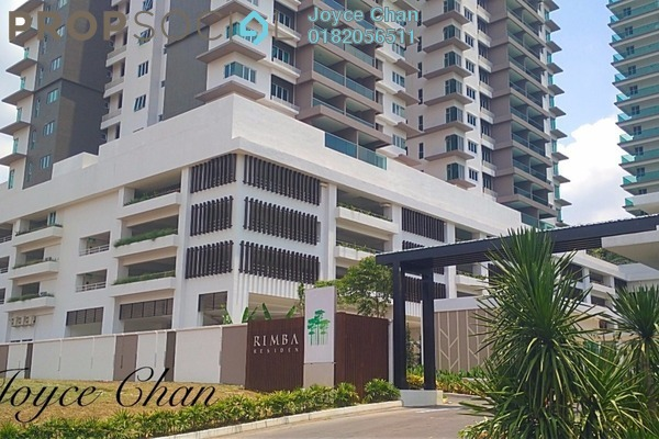 For Sale Condominium at Rimba Residence, Bandar Kinrara Freehold Semi Furnished 3R/2B 650k
