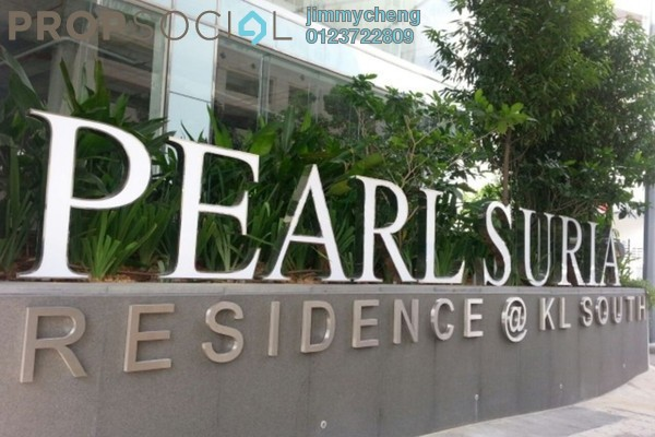 For Rent Serviced Residence at Pearl Suria, Old Klang Road Leasehold Unfurnished 2R/2B 1.5k