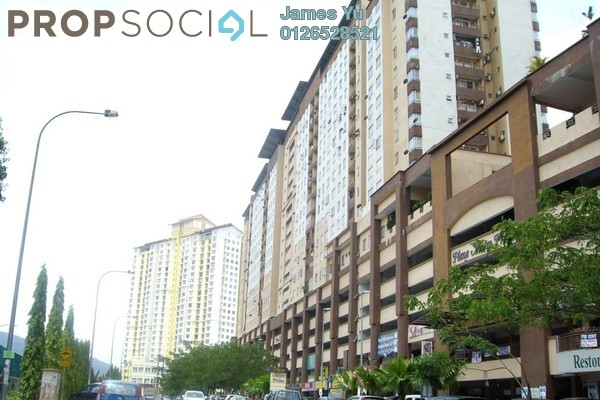 For Rent Condominium at Plaza Metro Prima, Kepong Leasehold Unfurnished 4R/2B 1.5k