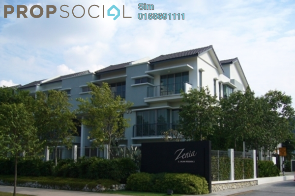 For Sale Terrace at Zenia, Desa ParkCity Freehold Fully Furnished 4R/3B 3m