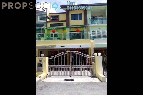 For Sale Terrace at Fadason Park, Jinjang Leasehold Fully Furnished 6R/4B 1.25m