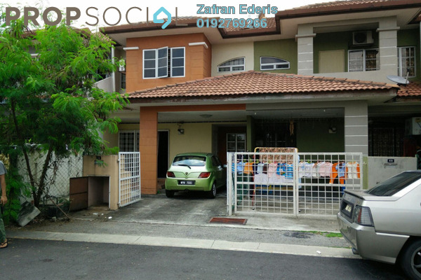 For Sale Terrace at Taman Subang Murni, Subang Leasehold Semi Furnished 4R/3B 570k