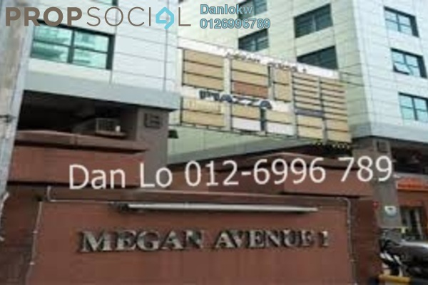 For Rent Office at Megan Avenue 1, KLCC Freehold Fully Furnished 1R/1B 5.4k
