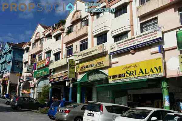 For Sale Shop at Section 7, Shah Alam Leasehold Semi Furnished 0R/4B 1.78m