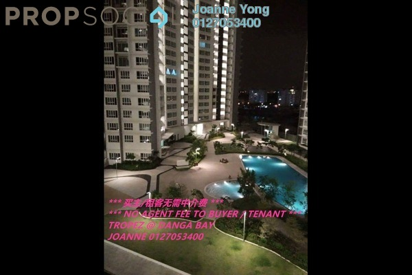 For Rent Serviced Residence at Tropez Residences, Danga Bay Freehold Fully Furnished 1R/1B 1.5k