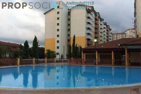 For Sale Apartment at Serdang Villa Apartment, Seri Kembangan Leasehold Unfurnished 3R/2B 330k