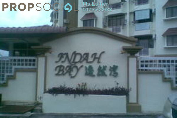 For Sale Condominium at Indah Bay, Tanjung Tokong Freehold Fully Furnished 3R/2B 480k