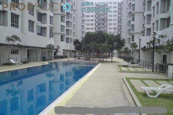 For Sale Condominium at Casa Tiara, Subang Jaya Freehold Fully Furnished 3R/2B 590k