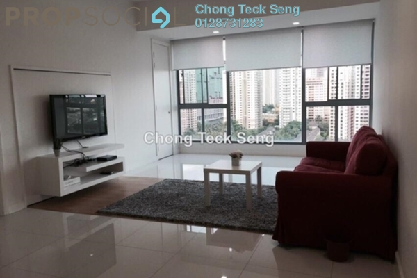 For Sale Serviced Residence at Gateway Kiaramas, Mont Kiara Freehold Semi Furnished 1R/1B 645k