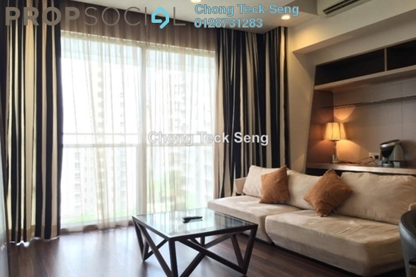 For Sale Serviced Residence at VERVE Suites, Mont Kiara Freehold Fully Furnished 2R/2B 1.18m