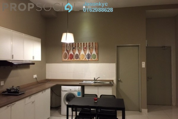 For Rent Serviced Residence at Vue Residences, Titiwangsa Freehold Semi Furnished 0R/1B 1.8k