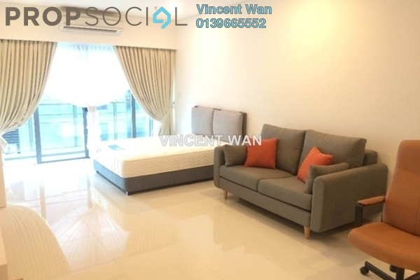 For Rent Condominium at Summer Suites, KLCC Leasehold Fully Furnished 0R/1B 2k