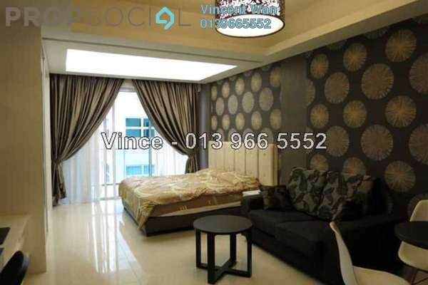 For Rent Condominium at Plaza Damas 3, Sri Hartamas Freehold Fully Furnished 0R/1B 1.9k