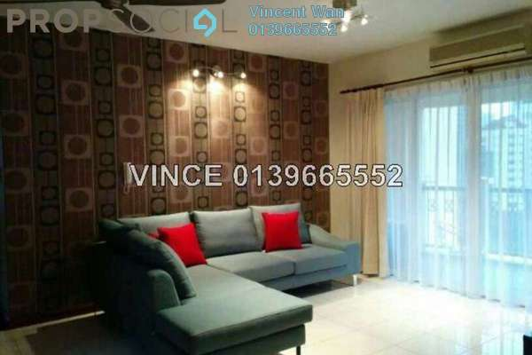 For Rent Condominium at Almaspuri, Mont Kiara Freehold Fully Furnished 3R/3B 3.7k