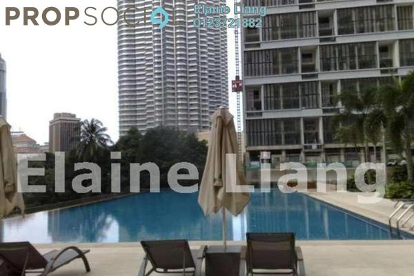 For Rent Condominium at Marc Service Residence, KLCC Freehold Fully Furnished 2R/2B 5.3k