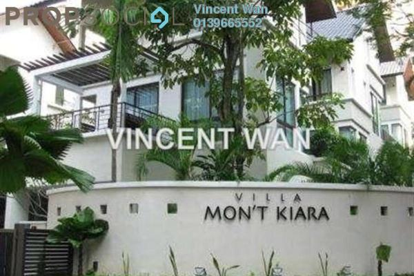 For Rent Terrace at Villa Mont Kiara, Mont Kiara Freehold Semi Furnished 4R/5B 15k