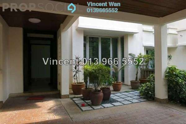 For Rent Terrace at Villa Aseana, Mont Kiara Freehold Semi Furnished 5R/5B 7k