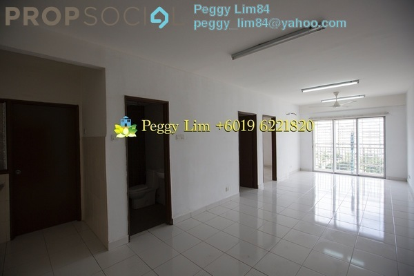 For Rent Condominium at Alam Idaman, Shah Alam Freehold Unfurnished 3R/2B 1.1k