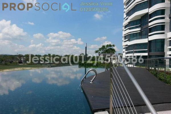 For Sale Serviced Residence at AraGreens Residences, Ara Damansara Freehold Semi Furnished 4R/4B 1.4m