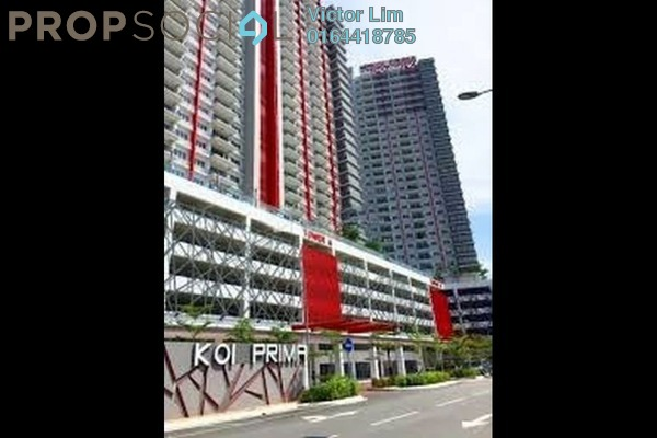 For Rent Condominium at Koi Prima, Puchong Leasehold Semi Furnished 4R/3B 1.3k