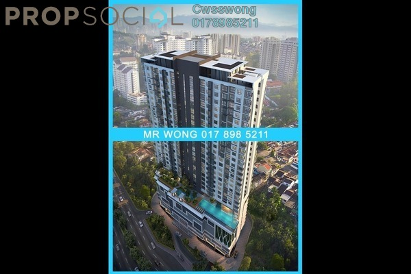 For Sale Serviced Residence at Avantas Residences, Old Klang Road Freehold Semi Furnished 2R/1B 695k
