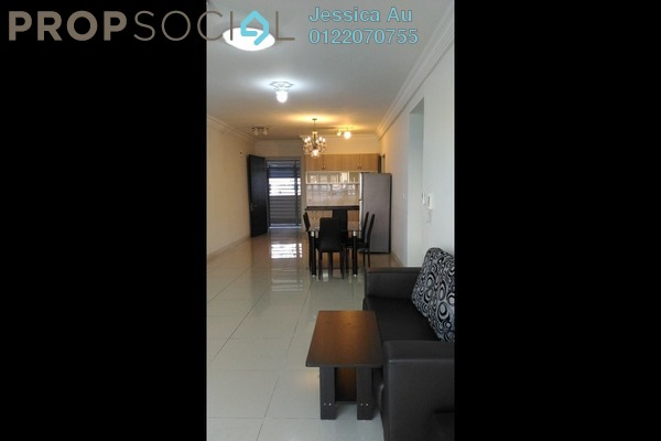 For Sale Condominium at Covillea, Bukit Jalil Freehold Fully Furnished 3R/3B 875k