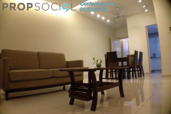 For Rent Condominium at Millennium Tower, Gurney Drive Freehold Semi Furnished 2R/2B 2.5k
