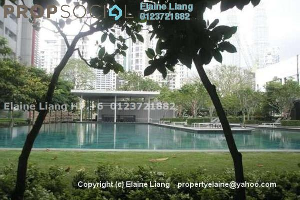 For Rent Condominium at Dua Residency, KLCC Freehold Semi Furnished 4R/5B 13k