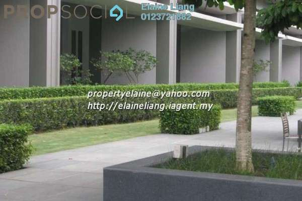 For Rent Condominium at Dua Residency, KLCC Freehold Semi Furnished 4R/4B 9k