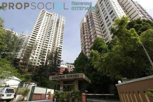For Sale Condominium at Cameron Towers, Gasing Heights Freehold Semi Furnished 3R/2B 820k