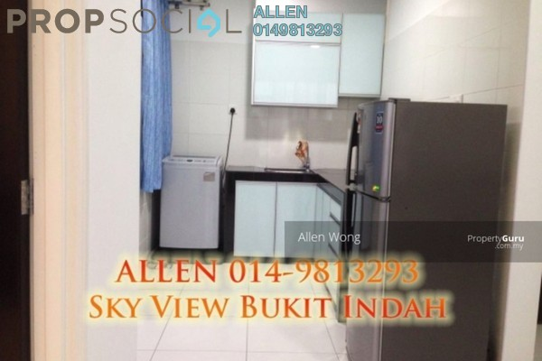 For Rent Serviced Residence at Sky View, Bukit Indah Freehold Fully Furnished 1R/1B 1.45k