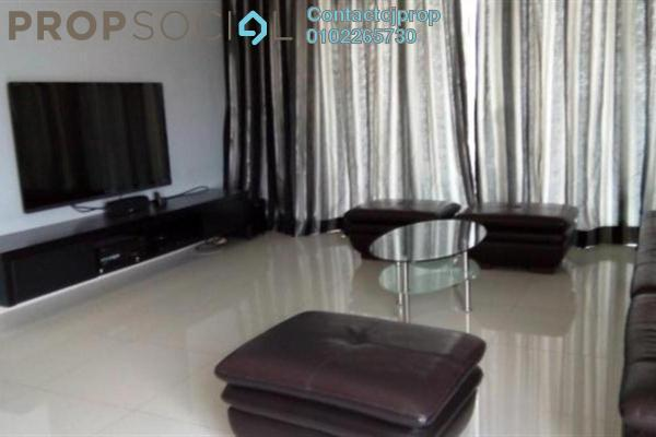 For Rent Condominium at Diamond Residences, Setapak Freehold Semi Furnished 4R/2B 1.9千