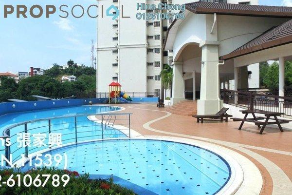 For Rent Condominium at Desa Permai, Taman Desa Freehold Semi Furnished 3R/2B 1.8k