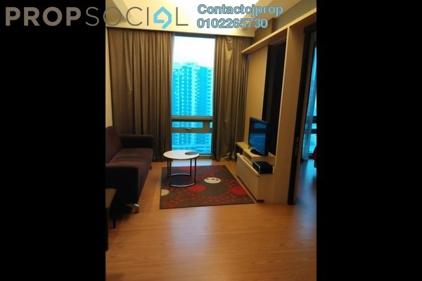 For Rent Serviced Residence at G Residence, Desa Pandan Leasehold Semi Furnished 2R/2B 3k