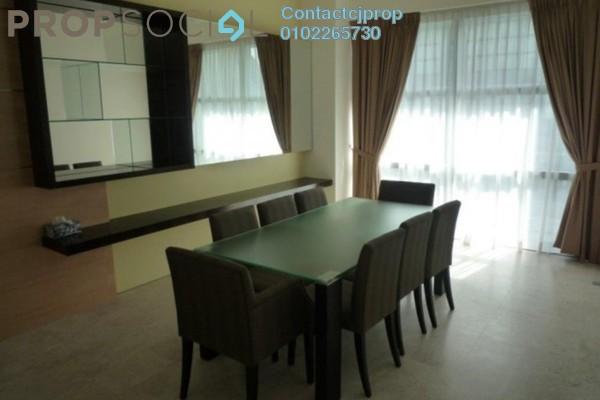 For Rent Condominium at Casa Kiara II, Mont Kiara Freehold Semi Furnished 3R/3B 3.45k