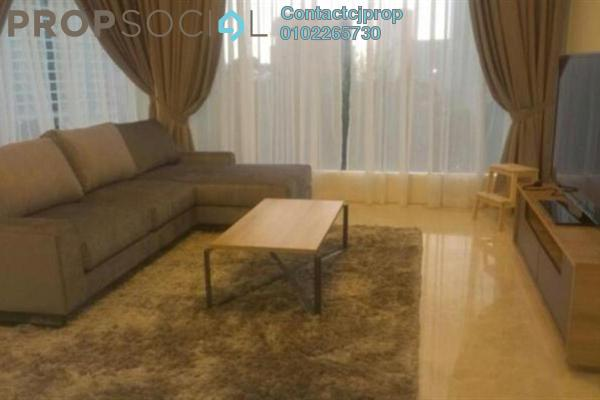 For Rent Condominium at Idaman Residence, KLCC Freehold Semi Furnished 2R/2B 4.7k