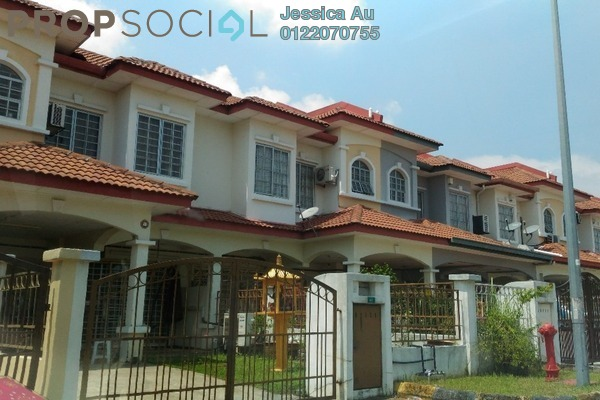 For Sale Terrace at Puteri 6, Bandar Puteri Puchong Freehold Unfurnished 4R/3B 850k
