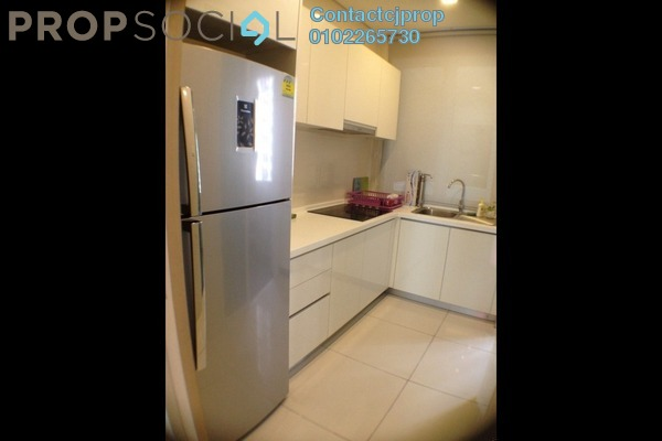 For Rent Condominium at Park View, KLCC Freehold Semi Furnished 0R/1B 2.2k