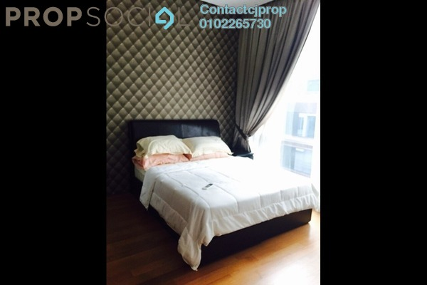 For Rent Condominium at Park View, KLCC Freehold Semi Furnished 1R/1B 2.6k