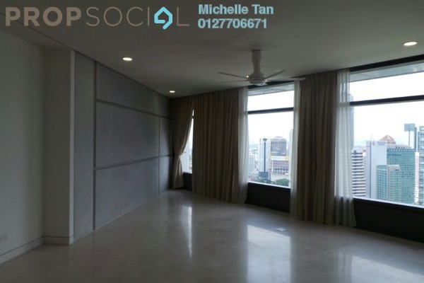 For Rent Condominium at The Troika, KLCC Freehold Semi Furnished 3R/4B 13k