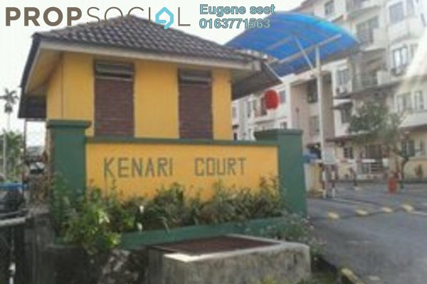 For Sale Apartment at Kenari Court, Pandan Indah Leasehold Unfurnished 3R/2B 355k