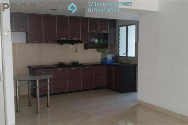 For Sale Condominium at Sea View Tower, Butterworth Freehold Semi Furnished 4R/2B 435k
