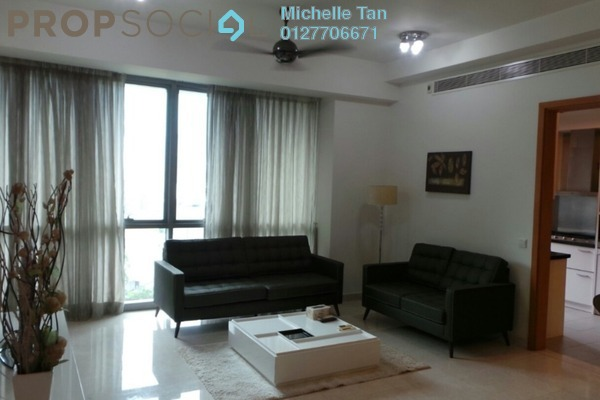 For Rent Condominium at The Meritz, KLCC Freehold Semi Furnished 2R/2B 5k