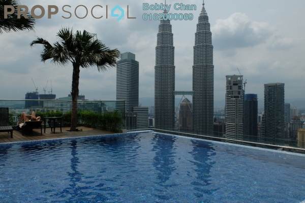 For Sale Condominium at Quadro Residences, KLCC Freehold Fully Furnished 3R/3B 2.4m
