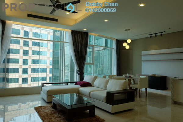 For Rent Condominium at Quadro Residences, KLCC Freehold Fully Furnished 3R/2B 11k