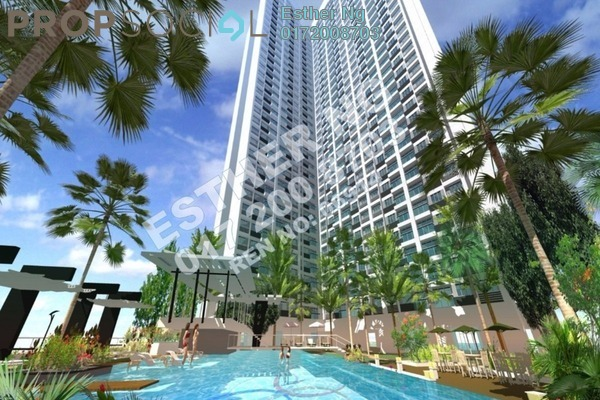 For Sale Condominium at Mizumi Residences, Kepong Freehold Unfurnished 3R/2B 390k