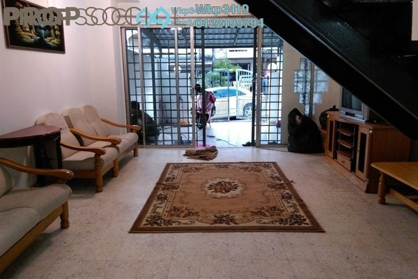 For Rent Terrace at Taman Sri Gombak, Batu Caves Freehold Fully Furnished 3R/2B 1.5k