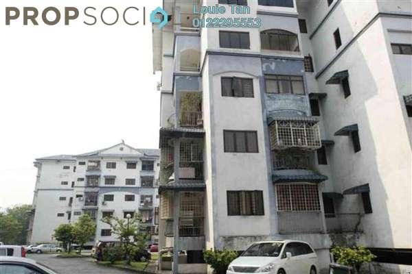 For Rent Apartment at Taman Lebah Hijau, Green Lane Freehold Unfurnished 3R/2B 1k