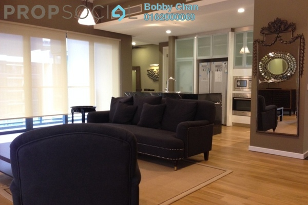 For Rent Condominium at St Mary Residences, KLCC Freehold Fully Furnished 4R/3B 12k